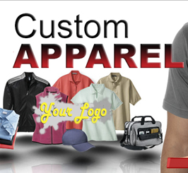 Get Your Logo or Design on Custom Apparel & Shirts