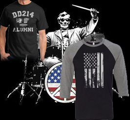 Patriotic and military Shirts