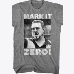Mark It Zero Big Lebowski Bowling T-Shirt