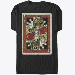 The Dude Playing Card Big Lebowski Bowling T-Shirt